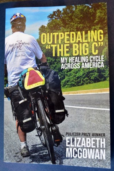 Outpedaling the Big C: My Healing Cycle Across America cover art